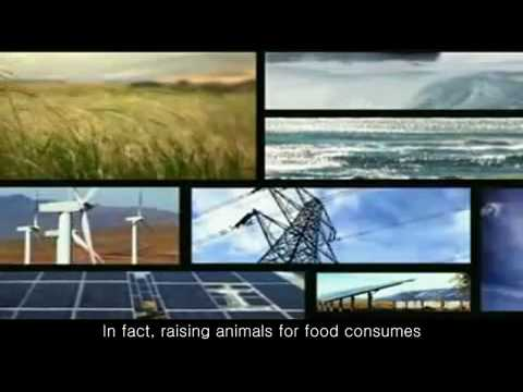 EARTH DAY (Environment + Go Vegetarian Really Go Green) Global Warming