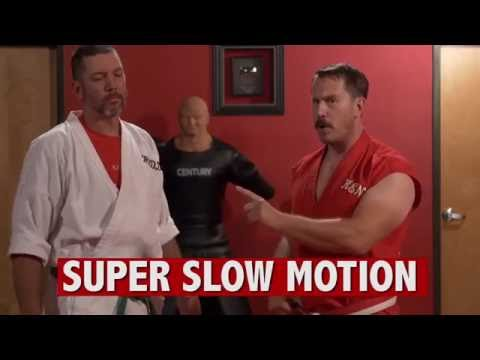 Скорость 100 ударов в 1 секунду   100 hits = 1 second Super slow motion