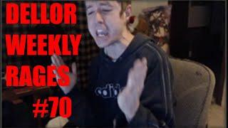 DELLOR EPIC FORTNITE RAGE COMPILATION Dellor Weekly #70