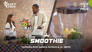 Face 2 Face with Danica and J.R. - Smoothie Challenge