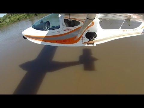 Do  Rio de Janeiro ao  Pantanal - ULTRALEVE SEAMAX - Gopro hero 3