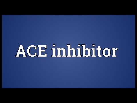 Header of ACE inhibitor