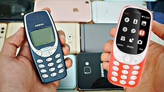 NEW Nokia 3310 (2017) vs Old Nokia 3310 - Whats New?