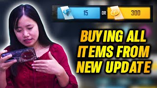 Buying all new Items from NEW UPDATE - Garena Free Fire
