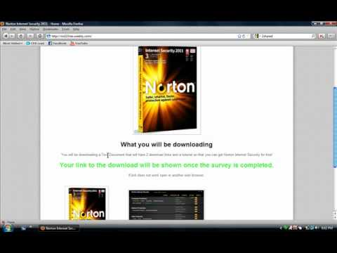 Norton Internet Security 2011 Free