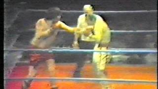 lenny fight v johnny clark (pt1)