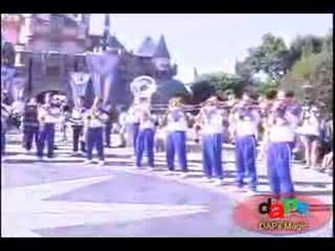 Disneyland 2007 All-American College Band 6~Disney Movies