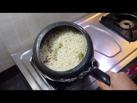 कुकर में बनाए खिले खिले जीरा राइस | Restaurant Style Jeera Rice In Pressure Cooker | Kabitaskitchen