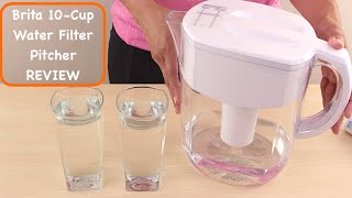 Brita 10 cup Everyday Water Filter Pitcher Review