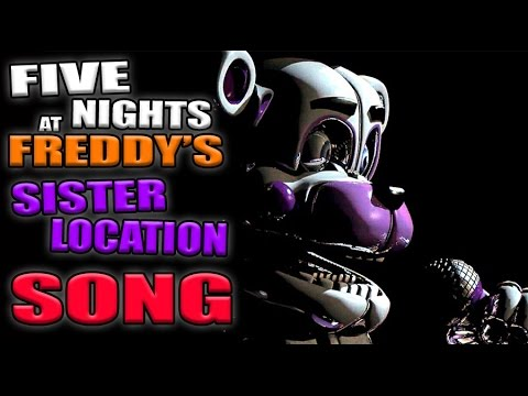 LEFT BEHIND - FNAF SISTER LOCATION SONG VIDEOCLIP/MUSIC VIDEO - CANCION ESPAÑOL | ZellenDust