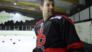 Red Devils' NZIHL On Ice Celebration - End of Third Period