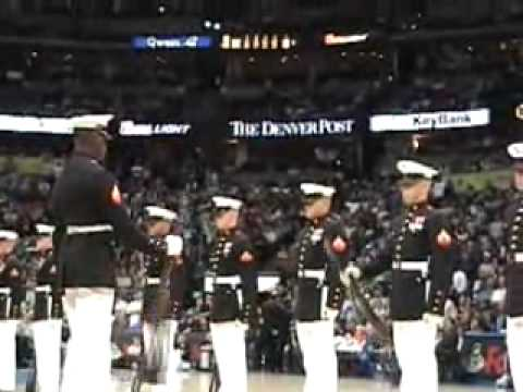 USMC Silent Drill Platoon Video