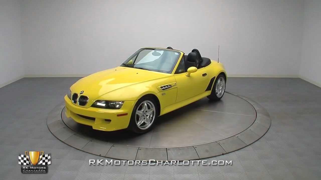 132842 2000 Bmw Z3 M Roadster Youtube