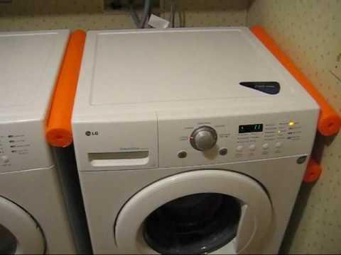 lg washing machine leak