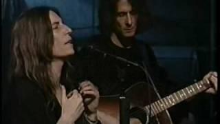 Watch Patti Smith Wing video