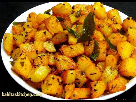 Magic oven potato thoran 15th decemer 2013 for Indian potato recipes for lunch