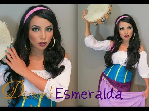 Disney s Esmeralda Make-up Look !!!