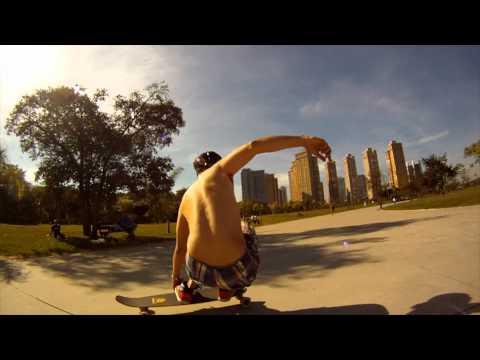 Skateboard Sunny Ride