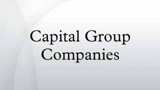 Capital Group Chairman Addresses Market Volatility