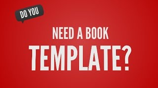Book Template - Write A Book In 24 Hours! How To Plan The Chapters And Layout Of Your Book