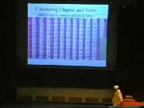 Mathematical Miracles in the Qur'an: A talk by Dr. Shabir Ally ( 1 of 2 )