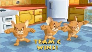 tom and jerry movie game for kids ✦ best funny game cartoon ✦ little mouse & jerry