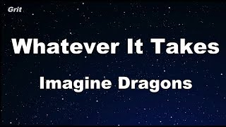 Download Lagu Whatever It Takes - Imagine Dragons Karaoke 【With Guide Melody】 Instrumental Gratis STAFABAND