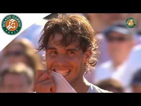Roland Garros 2013 Semifinal: Nadal d. Djokovic