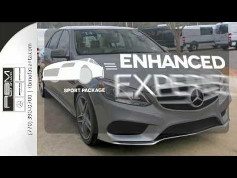 Certified 2014 Mercedes-Benz E-Class Atlanta GA Sandy Springs, GA #U13595