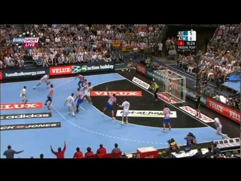 EHF CL Final: THW Kiel vs. BM Atletico Madrid (1/2)