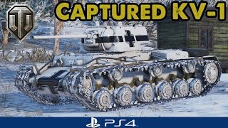 A new beard in town...Captured KV-1 - WoT Console (Guest Replay)
