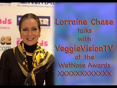 VeggieVision TV Talks with Lorraine Chase about Animals