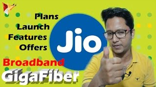 Reliance Jio Gigafiber Broadband with 1GBPS Speed | Plans Launch Availability | Data Dock