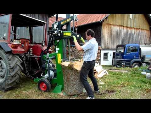 DORN-TEC Holzspalter mit Seilwinde