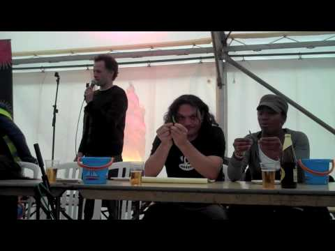 Fiery foods Chilli eating Competition Day 94 365 (2010)  [part 2/4]