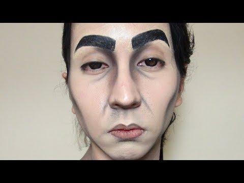 「森の安藤(Mr. Ando of The Woods)」安藤さんメイク方法(化粧)Mr. Ando Makeup Tutorial