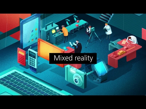 Tech Trends 2017: Mixed reality: AR, VR, and IoT collide