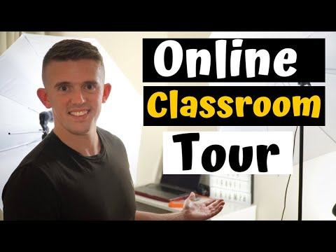Distance Learning Classroom Tour at Home 2020