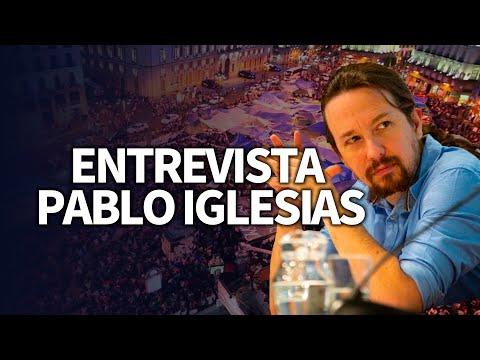 Entrevista a Pablo Iglesias.
