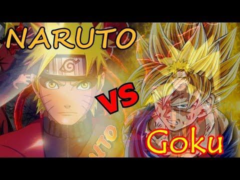 Goku VS Naruto: ¿quién gana en un combate?
