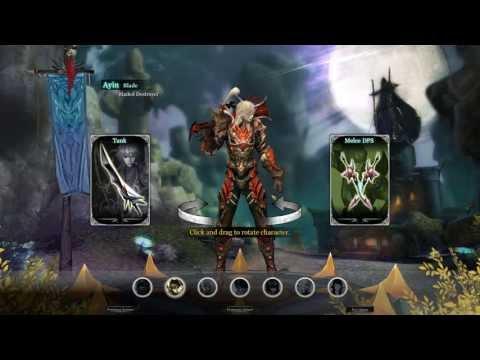 Arcane Saga Online: Ayin Warrior - Tank and Dps - Starting Area