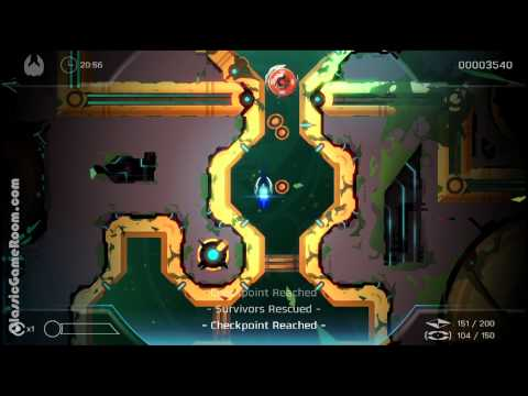 Classic Game Room - VELOCITY 2X review for PlayStation 4