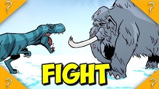 A Mammoth CAN kill a T-rex EASY