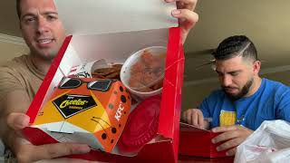 The Habba Brothers - KFC Cheetos Lover's Box - Food Review (GONE WRONG)