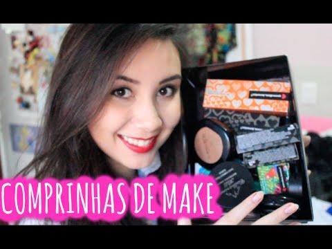 video de comprinhas/ review de maquiagem de farmacia + quem disse berenice