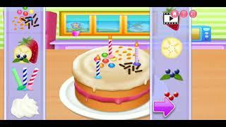Trò chơi làm bánh sinh nhật cho bé 2019-Game kids-hướng dẫn bé