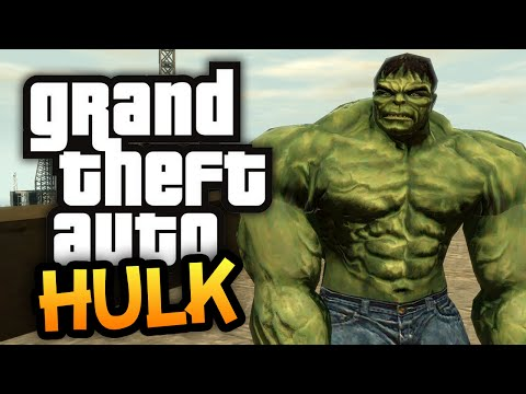 Gta 4: Return Of The Hulk! - (gta Hulk Mod Funny Moments) video