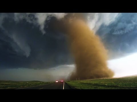 EXTREME Video of the Eckley & Wray, CO Tornadoes - 5/7/16