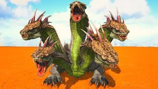 A História Do Bebê Dragão Hydra De 5 Cabeças, a Procura De Alimento Ricos! Ark Dino Evolved
