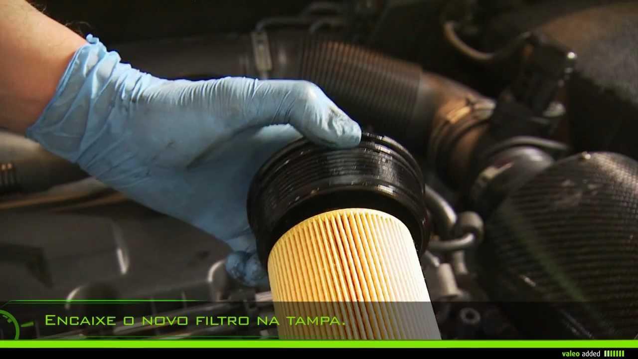 Valeo Oil Filter Montagem De Um Elemento Filtrante De